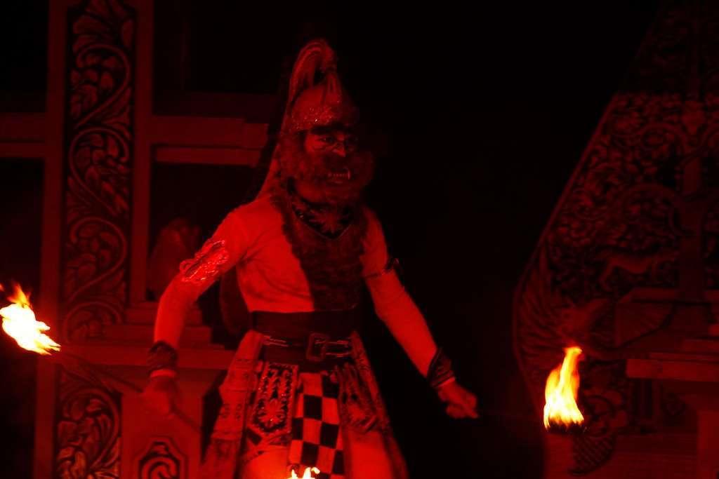 Mono de Ramayana Ballet Purawisata