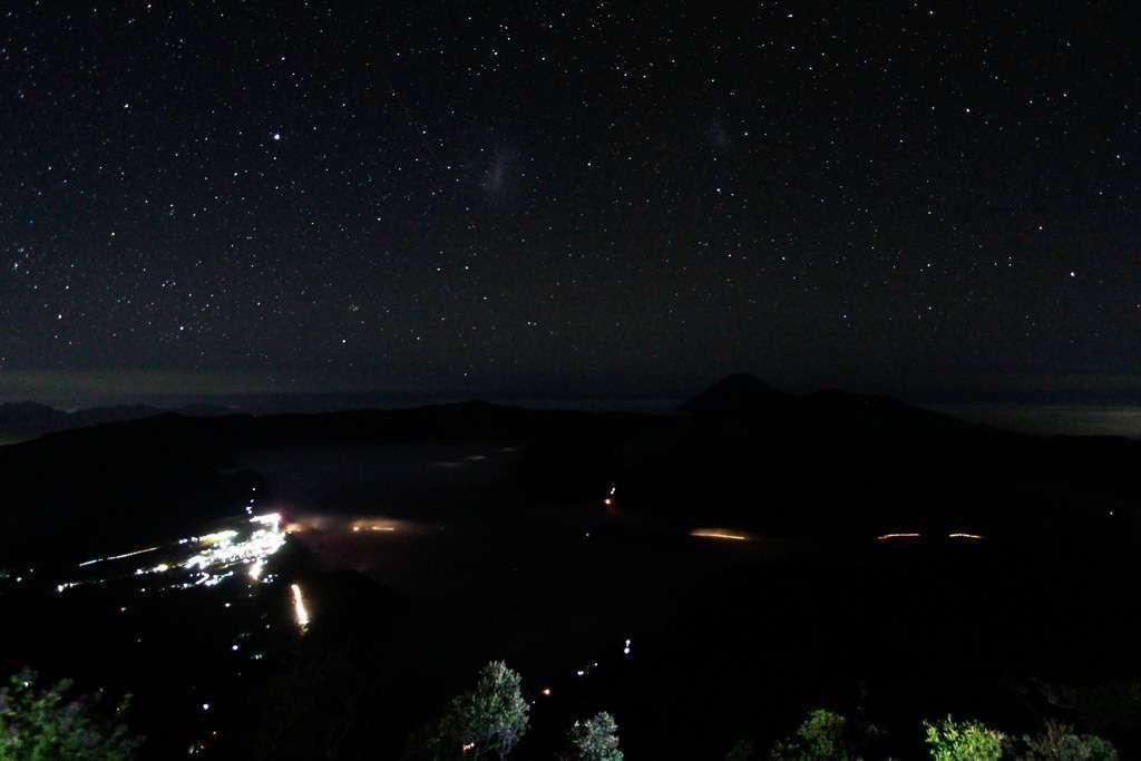 Monte Bromo de noche