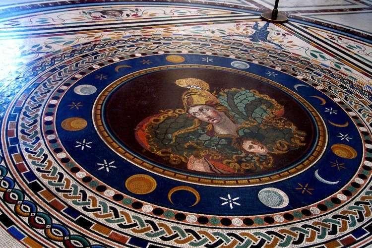 Mosaico en los Museos Vaticanos