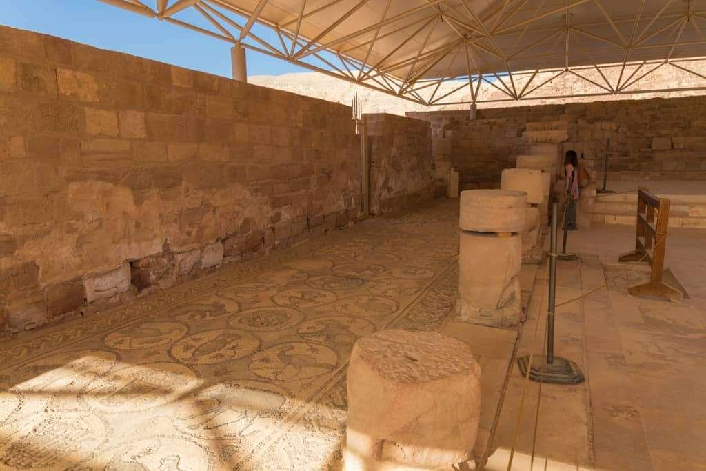 Mosaicos de la Iglesia Bizantina de Petra