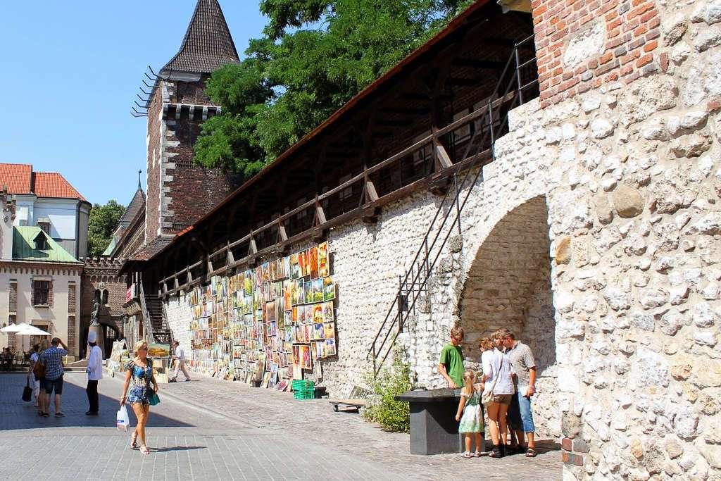 Murallas medievales de Cracovia