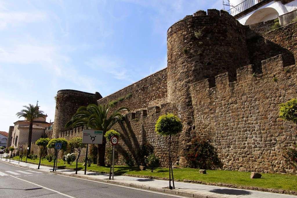 La muralla de Plasencia