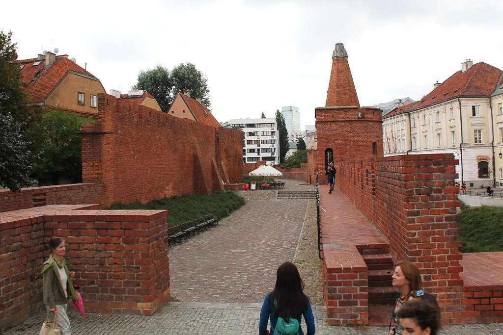 Murallas de Varsovia