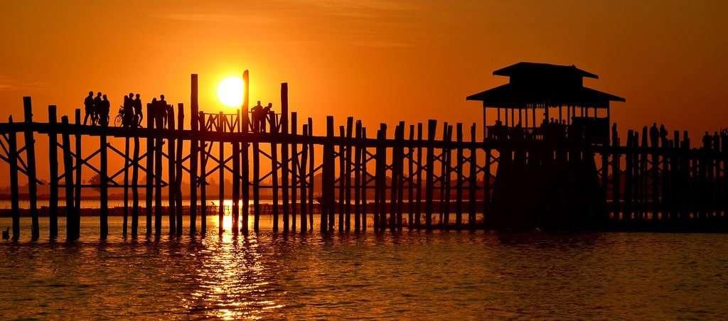 Puente U-bein, Myanmar