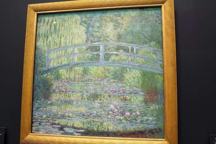 """""""Ninfeas, armonía en verde"""" de Monet (Museo d'Orsay)"""