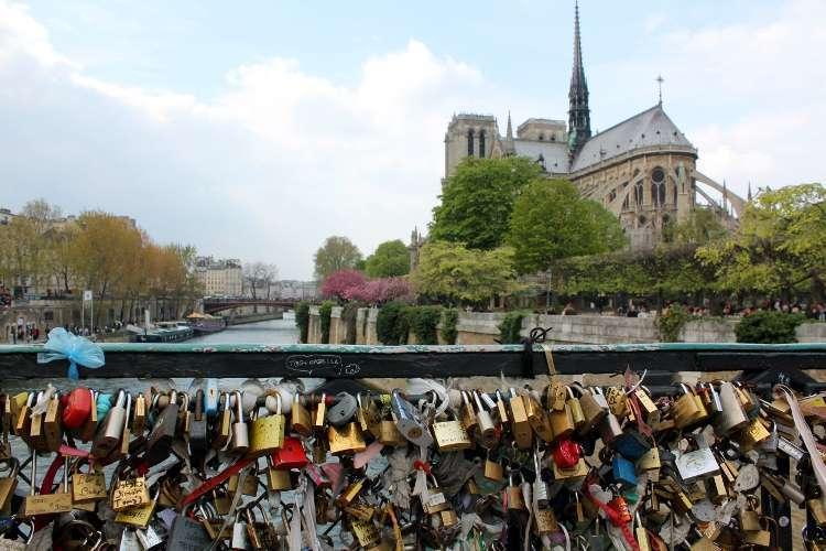 Notre Dame desde el Pont de l'Archevêché