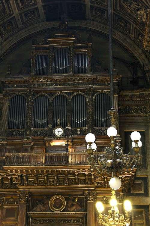 Órgano de la iglesia de la Madeleine