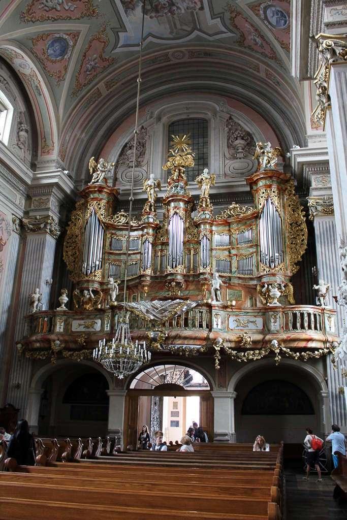 Detalle del órgano de la Iglesia de Santa Ana