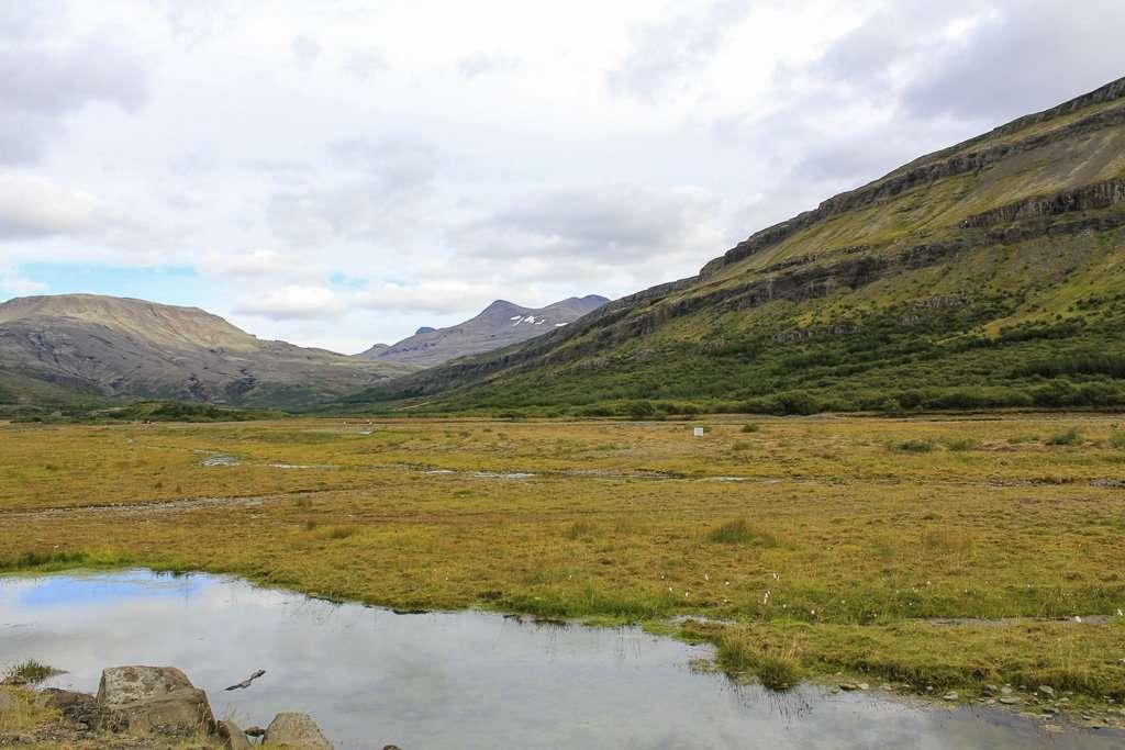 Paisajes del oeste de Islandia