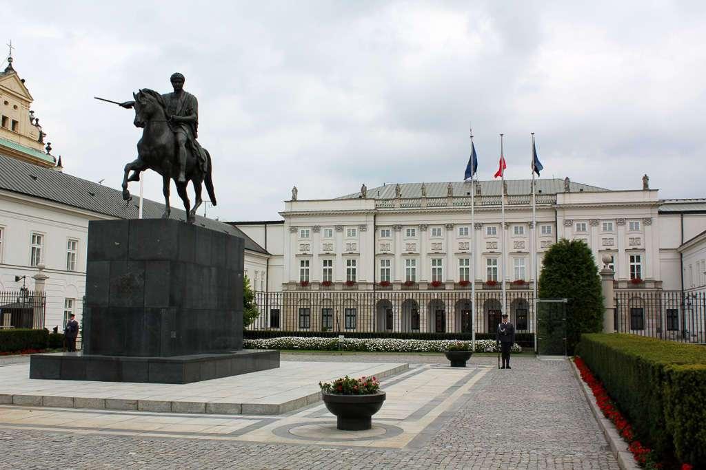 Palacio Presidencial o Palacio Namiestnikowski