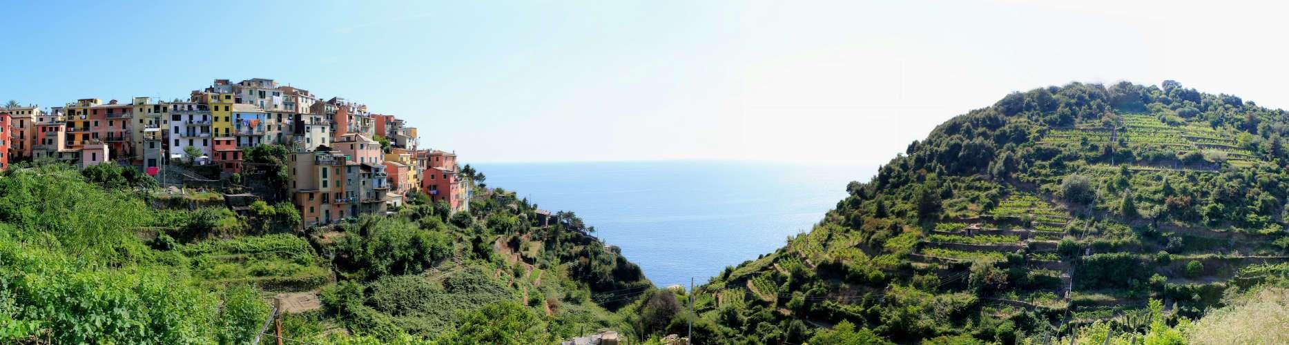 Panorámica Corniglia (Cinque Terre)