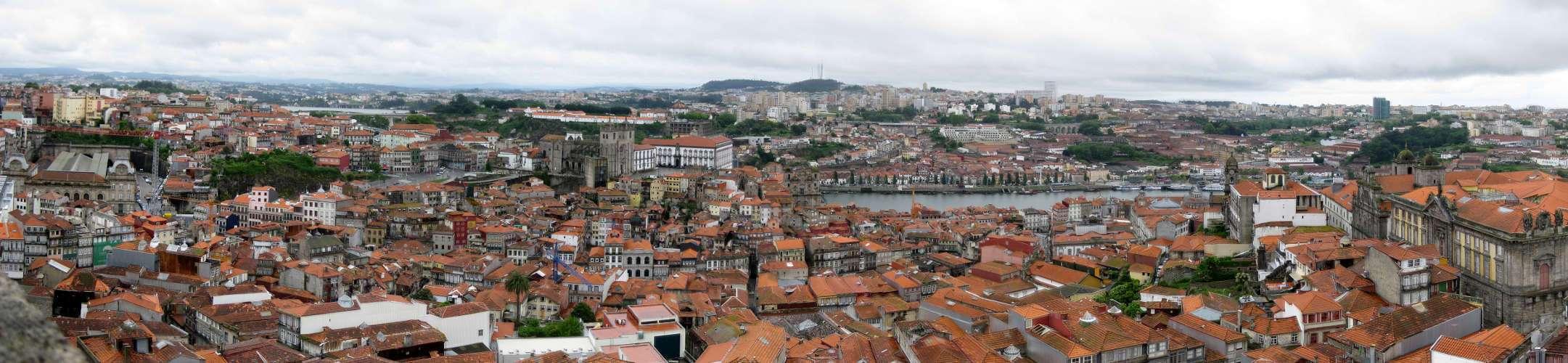 Panorámica de Oporto