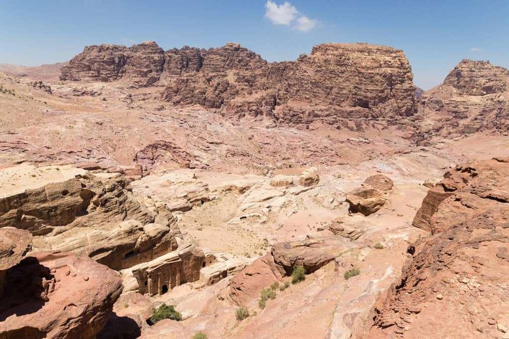 Vistas desde la ruta de descenso del Altar