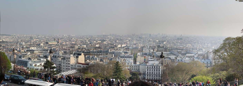 Panorámica desde la Basílica del Sacré Coeur