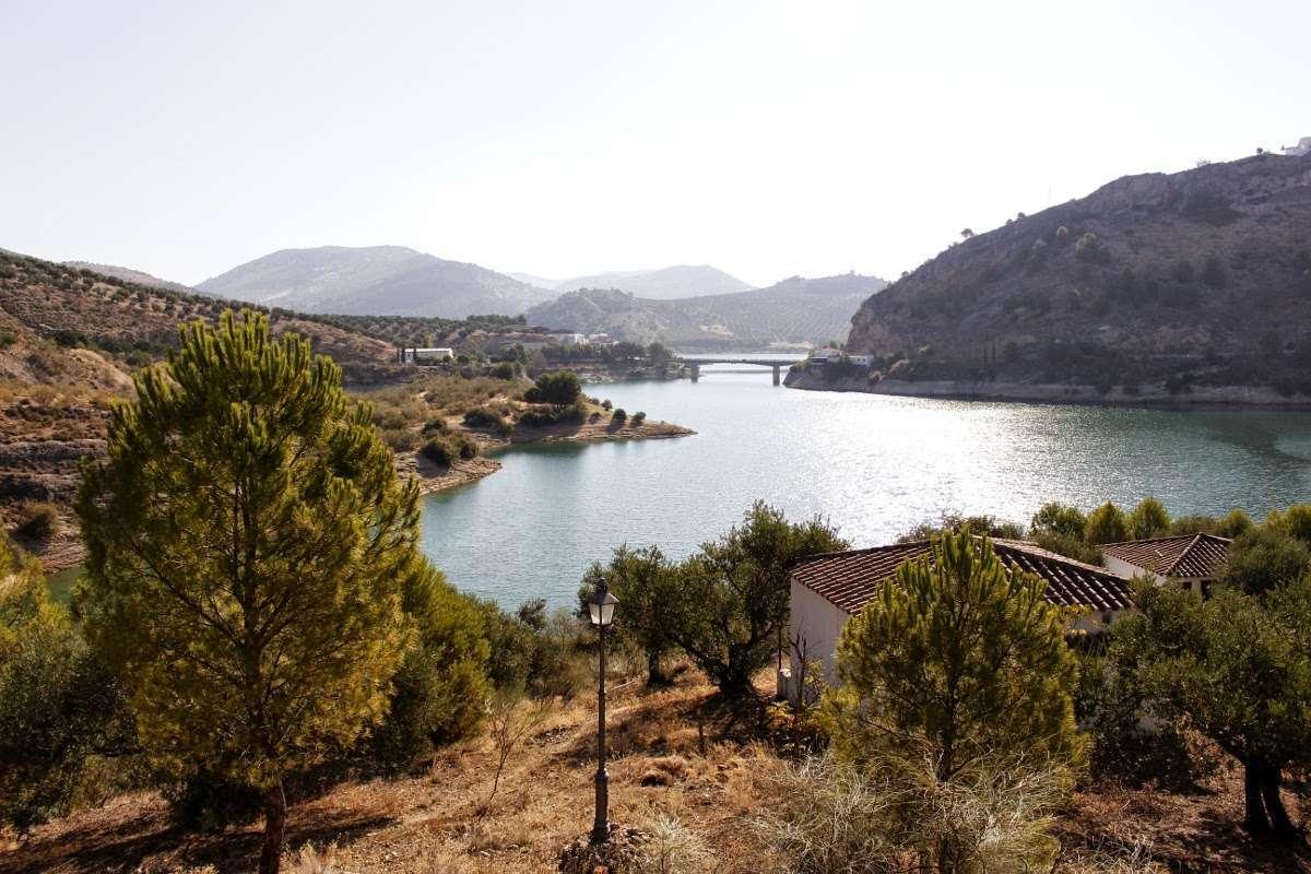 El pantano de Iznajar