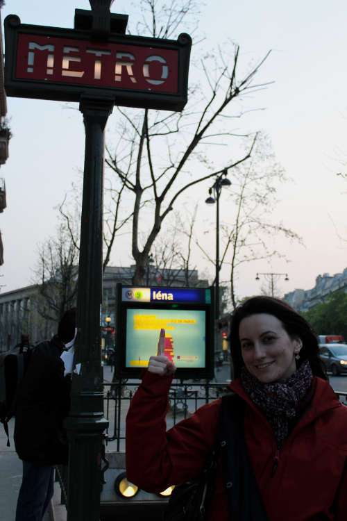 Parada de metro Iéna
