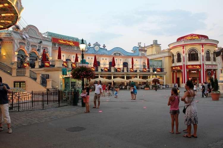 El parque de atracciones del Prater