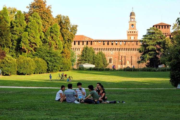 Castello Sforzesco de Milán