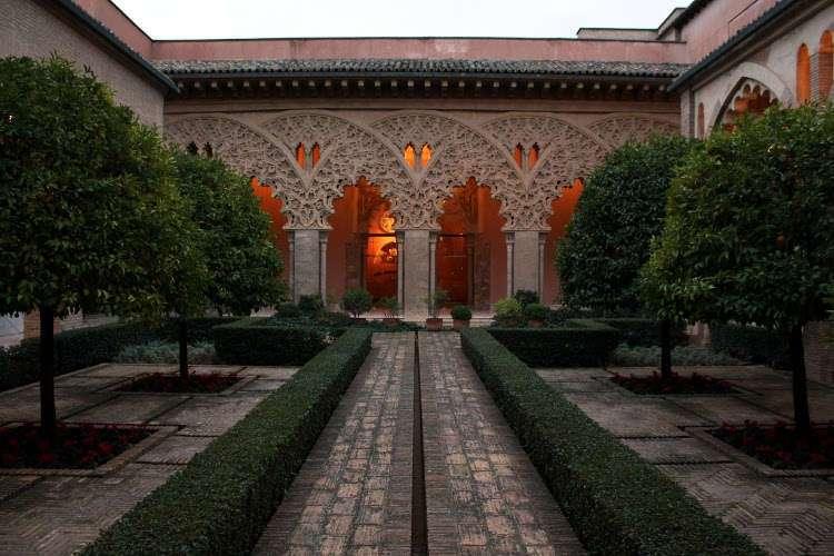Patio del Palacio de la Aljafería (Zaragoza)