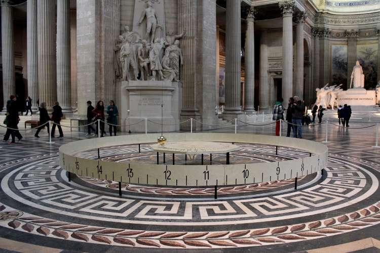 Péndulo de Foucault en el Panthéon