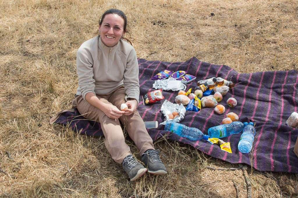 De picnic en el Masai Mara