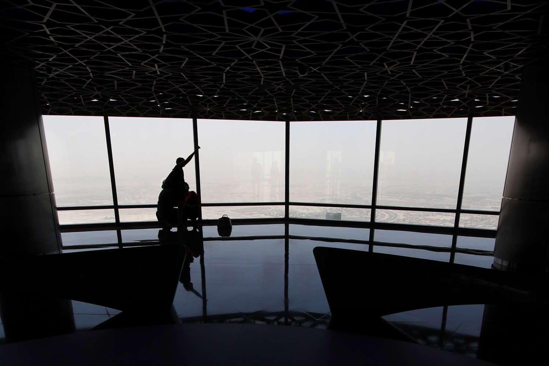 Piso 125 del Burj Khalifa