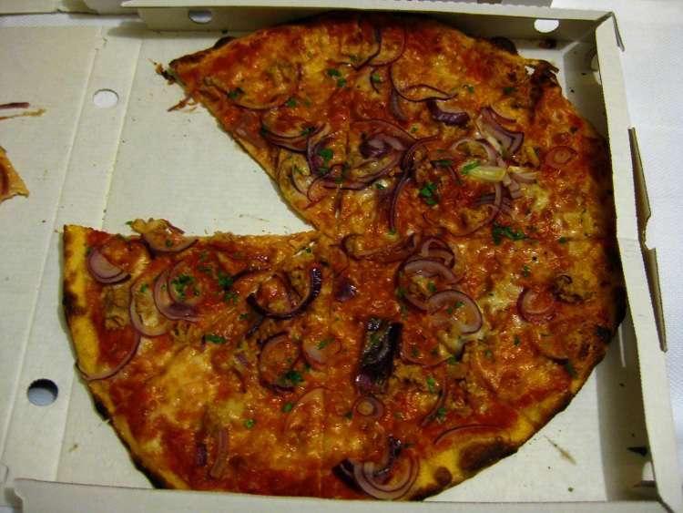 Pizza del restaurante 'Il Brigantino'
