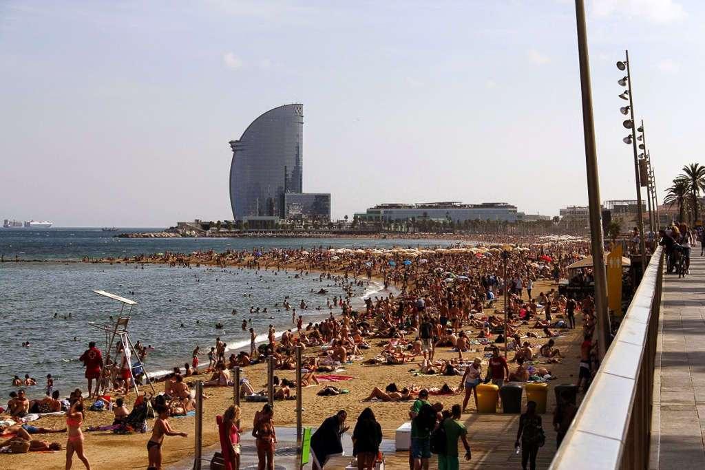 Playa de la Barceloneta (Barcelona)