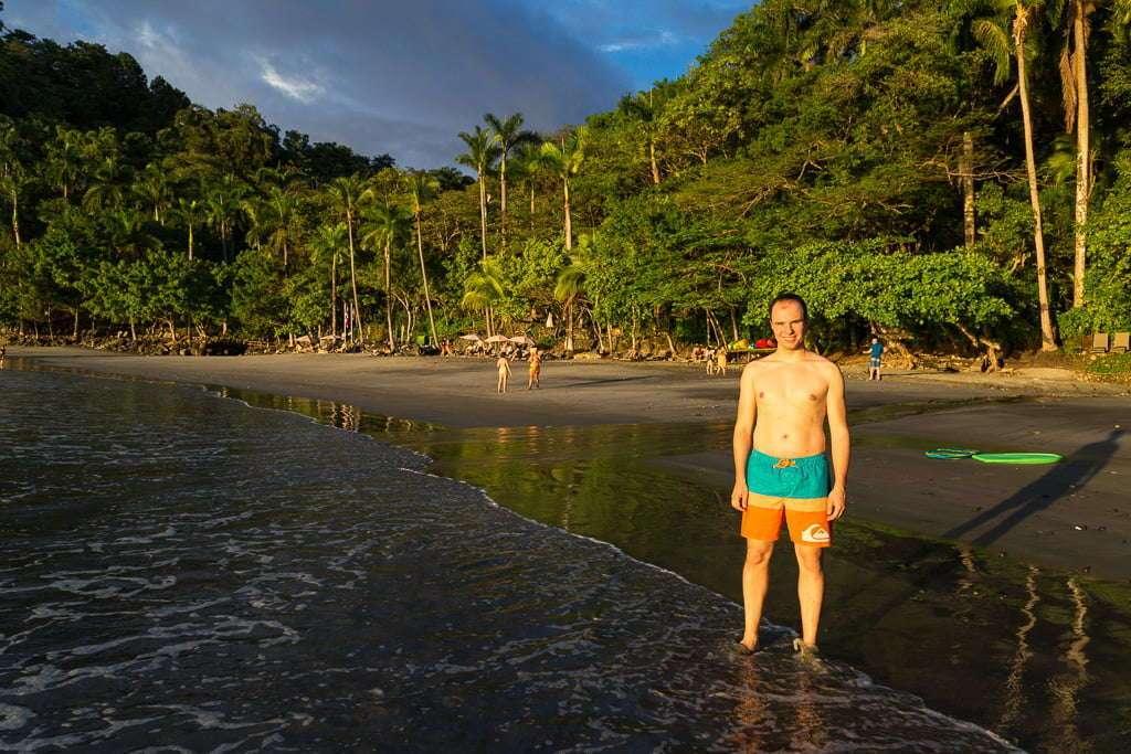 Playa Tulemar cerca de Manuel Antonio