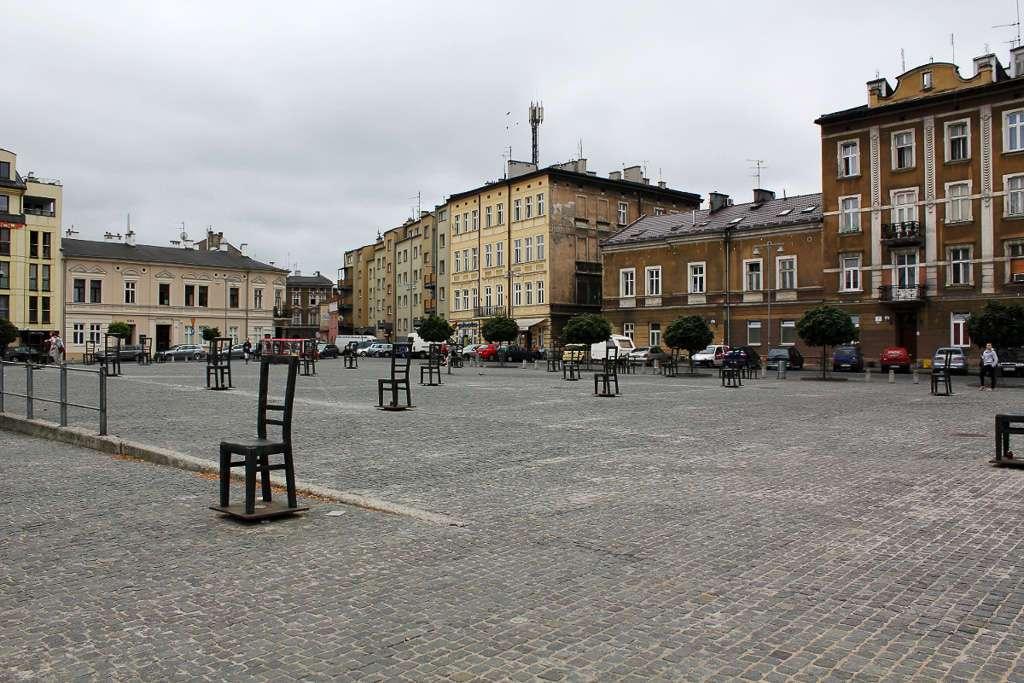 Plaza de los héroes del gueto (Bohaterów Guett) (Cracovia)
