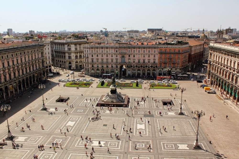 La plaza del Duomo de Milán