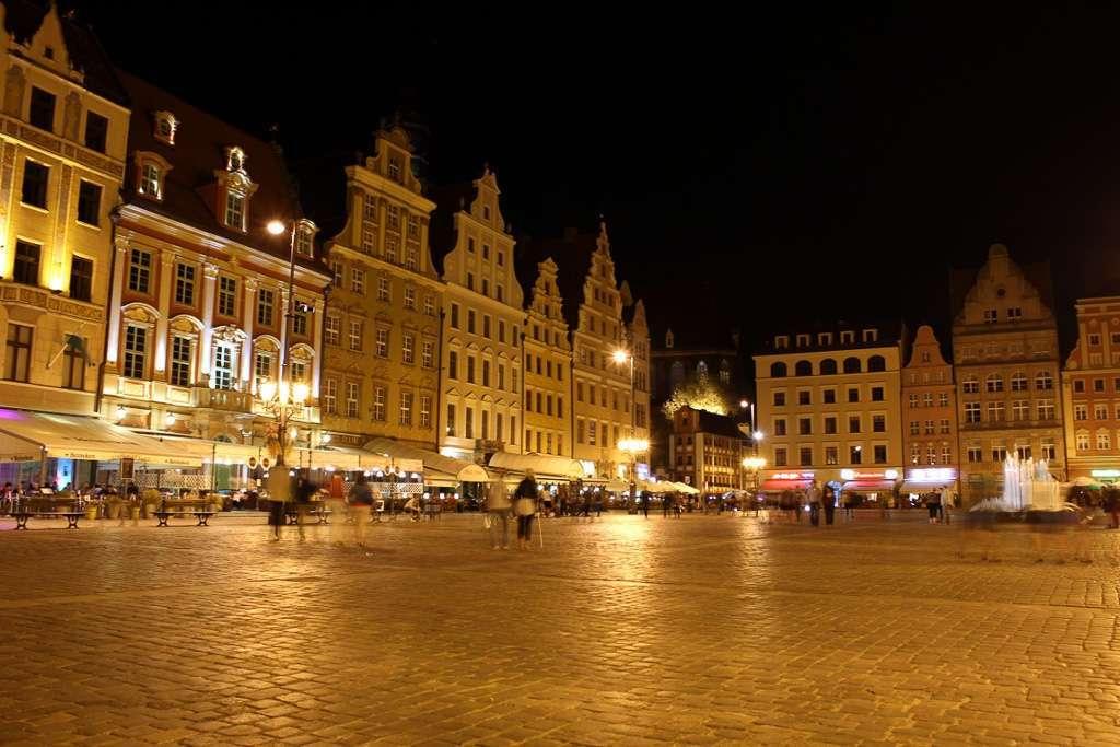 Plaza del mercado de Wroclaw