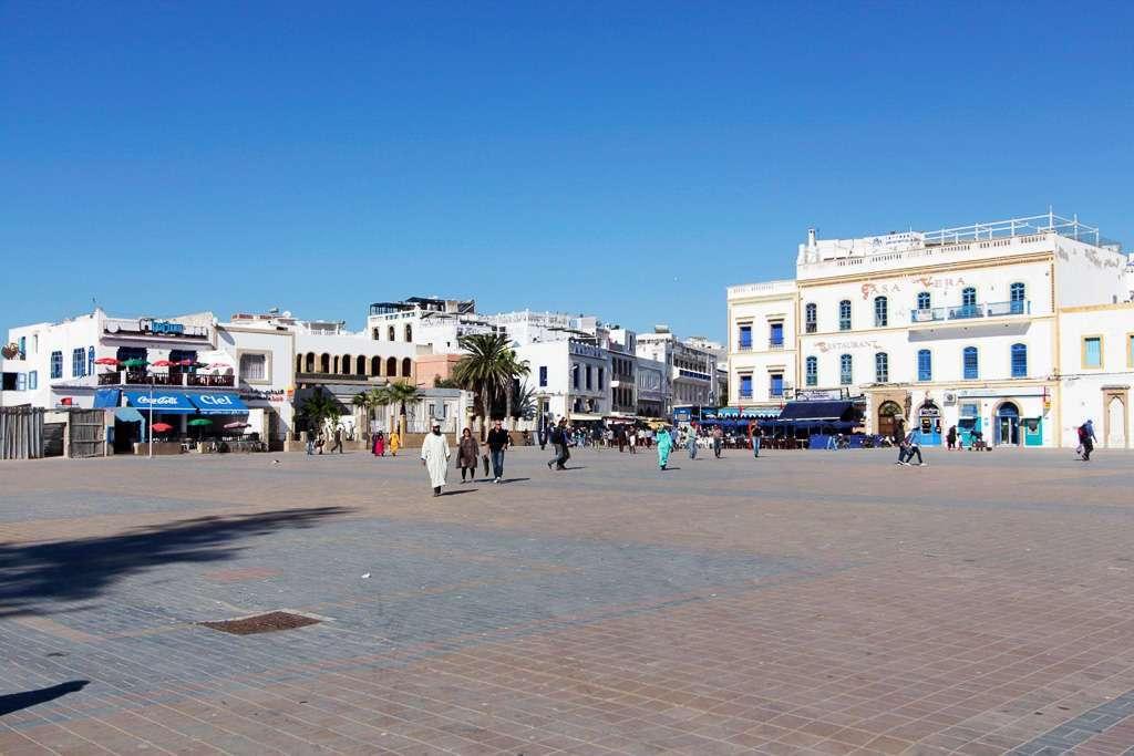 Vista general de la plaza de Mulay el Hassan