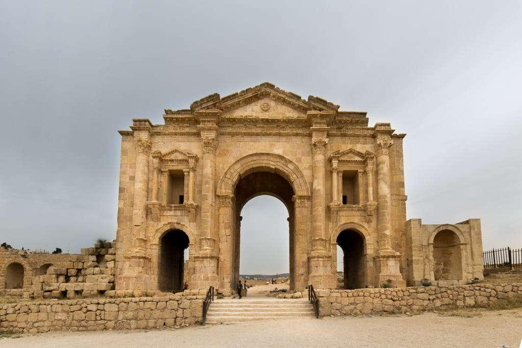 Arco de Adriano de Jerash