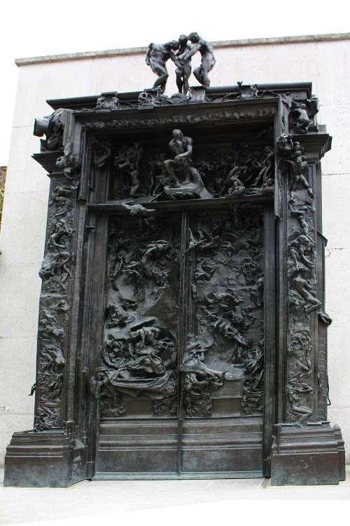 La Puerta del Infierno (Museo Rodin)