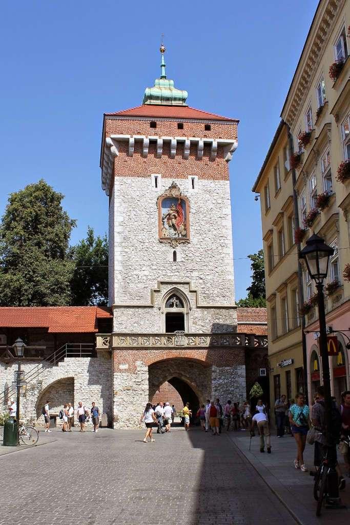 Puerta de San Florián (Cracovia)