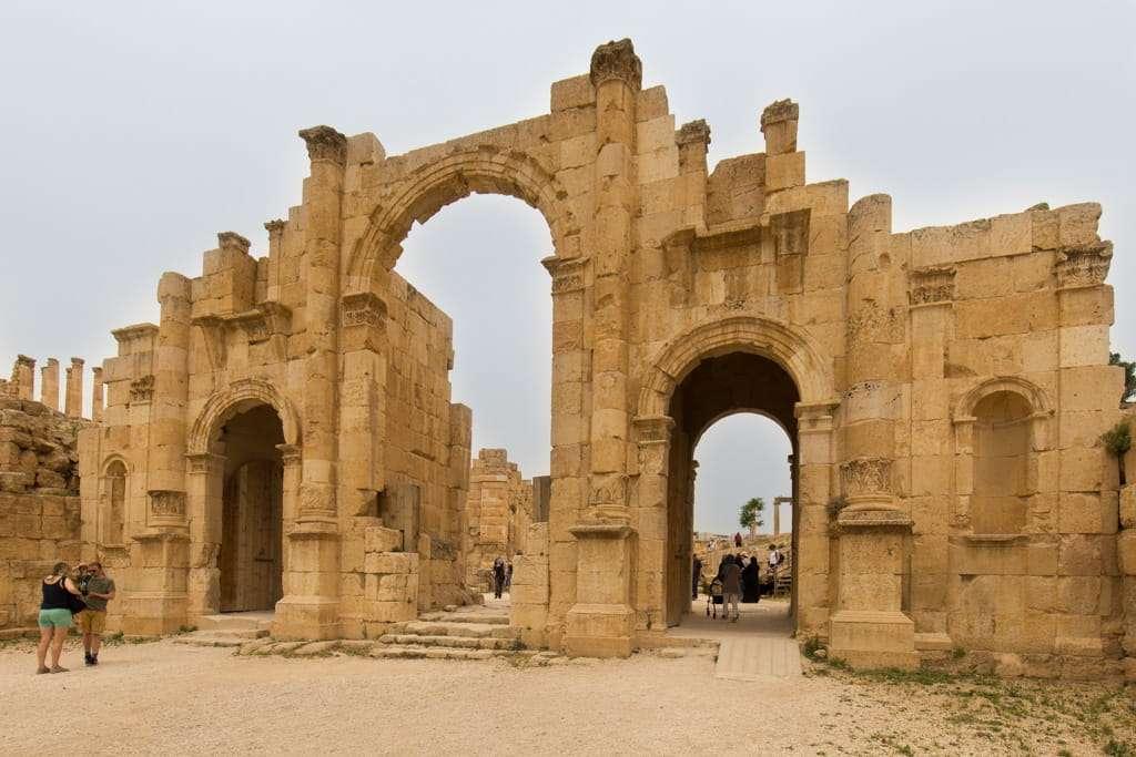 Puerta sur de Jerash