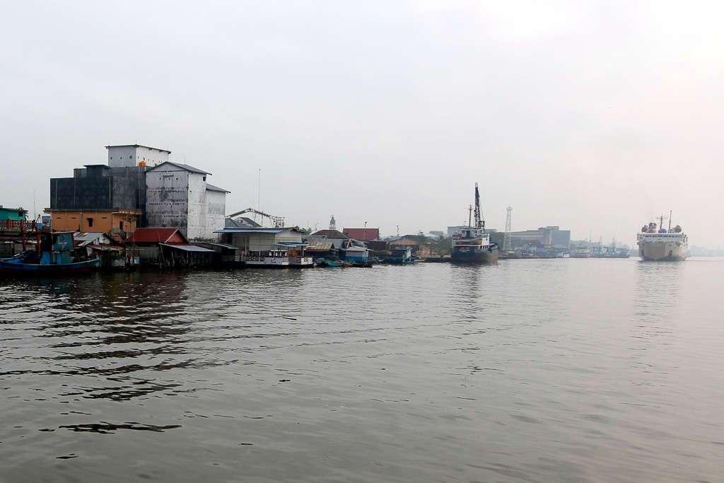 Puerto de Kumai (Borneo)