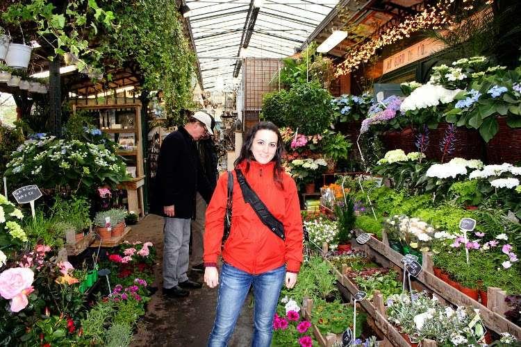 Puestos del Mercado de las flores