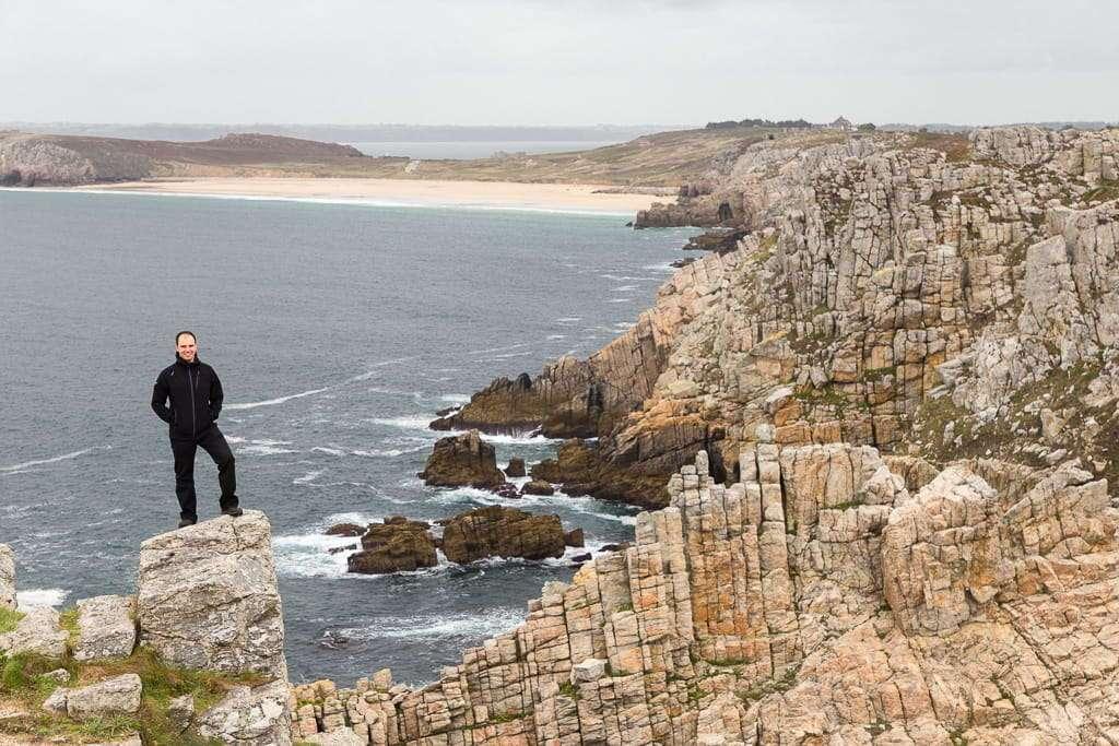 Acantilado de Punta Pen-Hir en la Bretaña francesa
