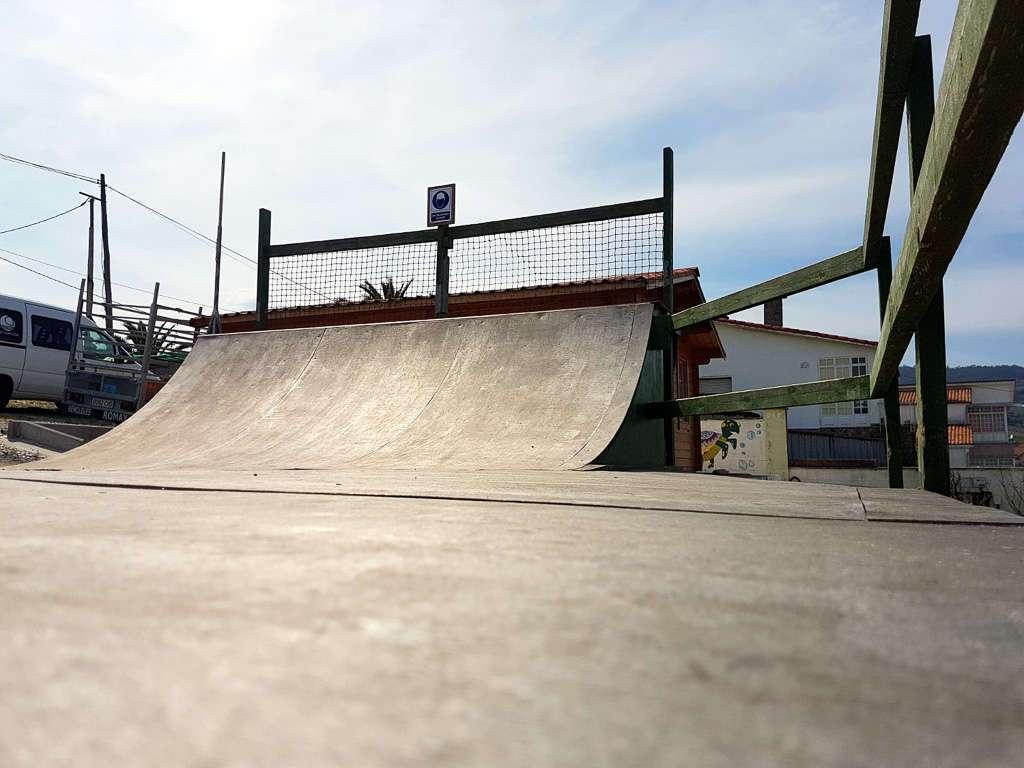 Rampa de skate de Art Surf Camp