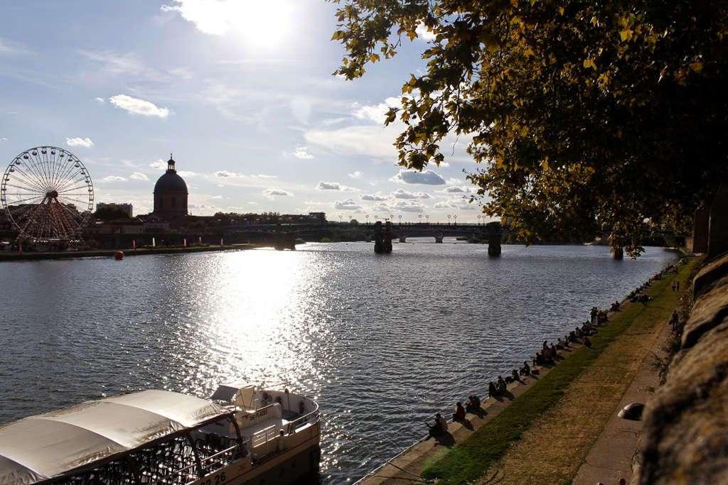 Río La Garonne (Toulouse)