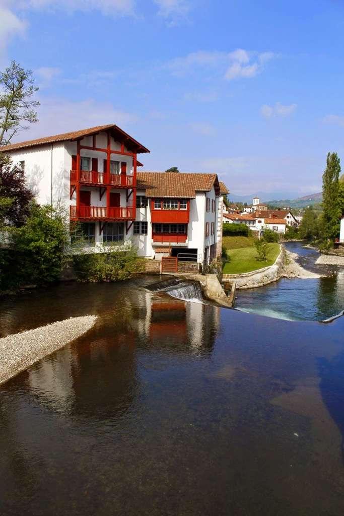 Río de Saint-Jean-Pied-de-Port
