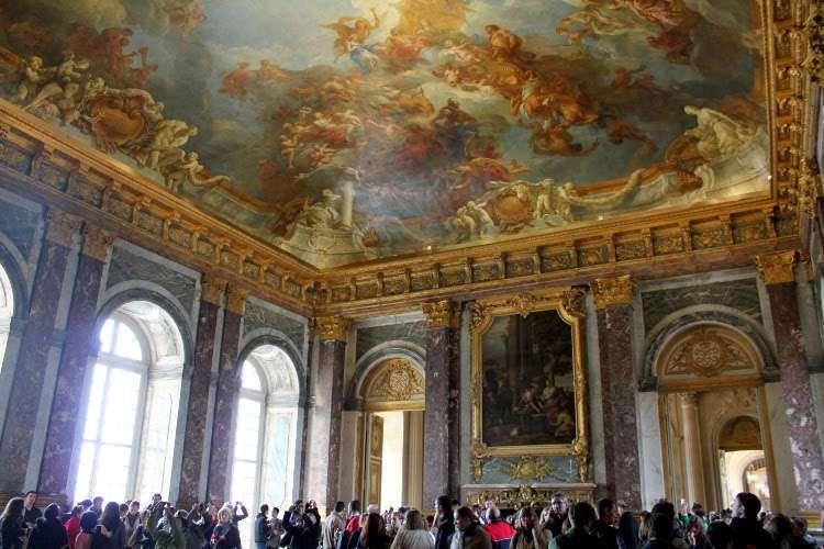 Sala del Palacio de Versalles