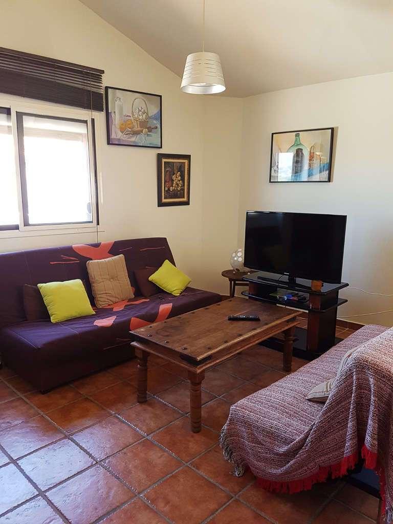 Salón del apartamento de Jarilla