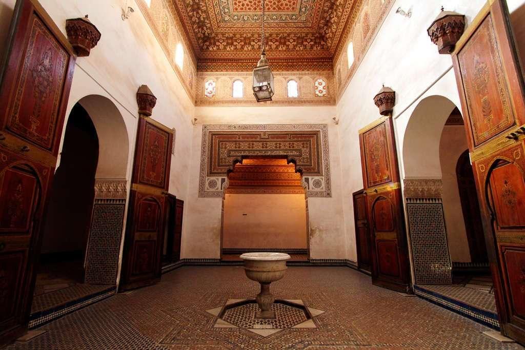 Una de las salas principales del Palacio Bahía
