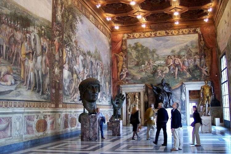 Sala del Palazzo dei Conservatori (Museos Capitolinos)