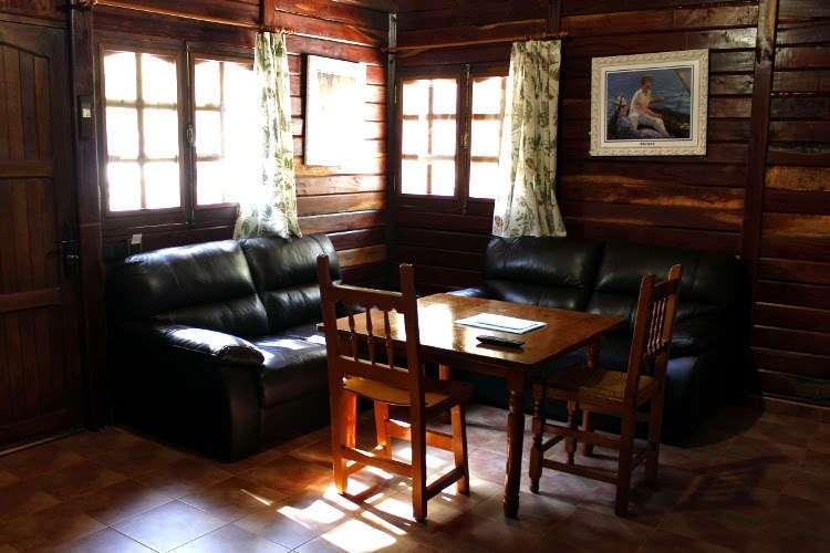 Salón de la cabaña