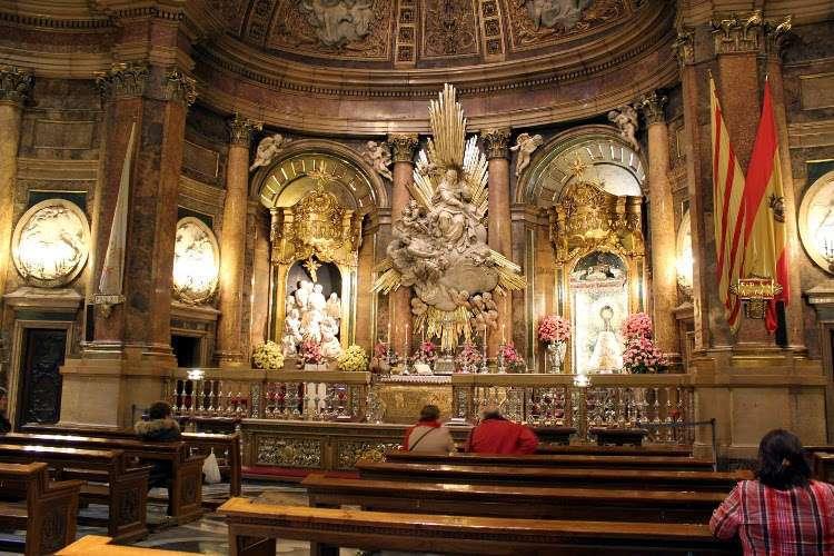 Santa Capilla de la Virgen de la Basílica del Pilar de Zaragoza