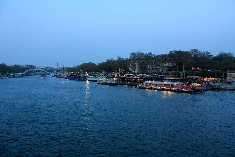 El Sena desde el puente de Iéna
